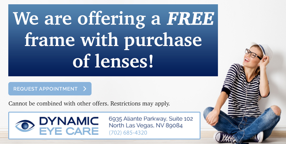 Dynamic Eye Care Free Frame Special